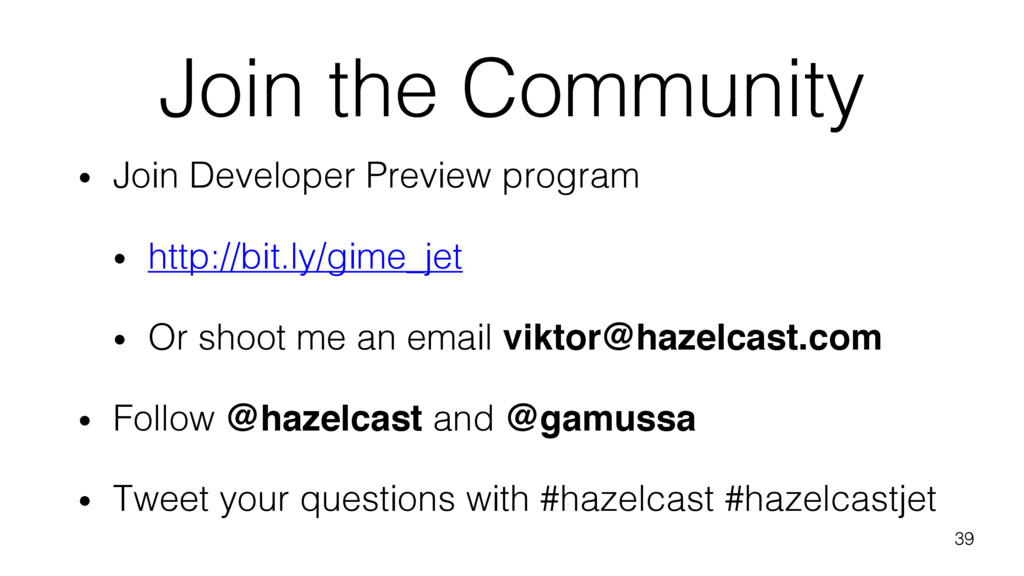 Join the Community • Join Developer Preview pro...