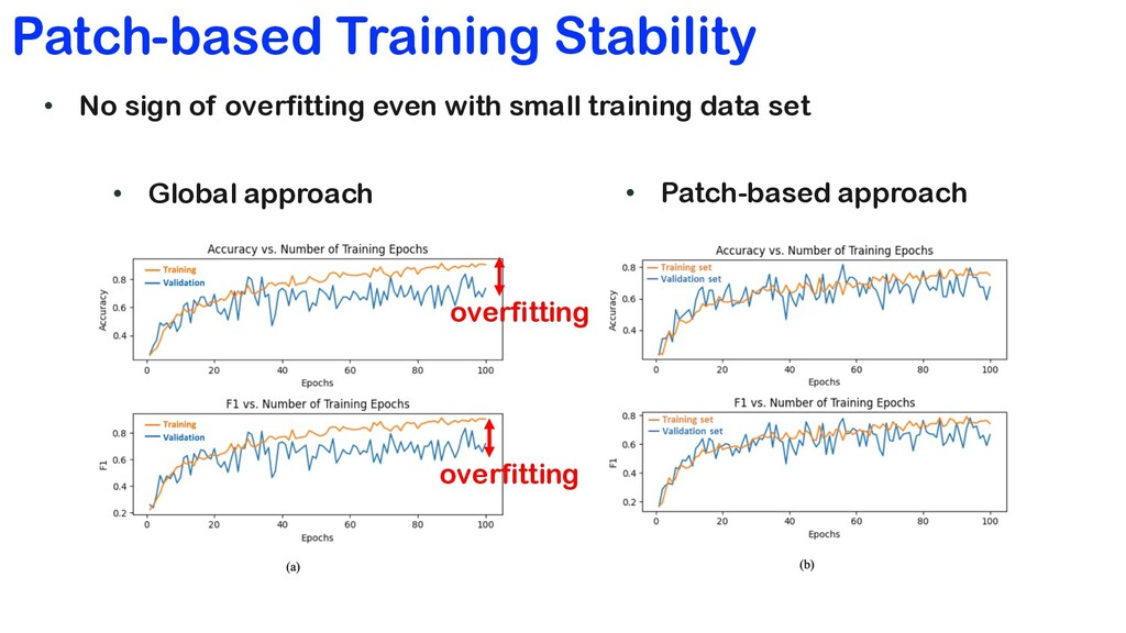 Patch-based Training Stability • Global approac...