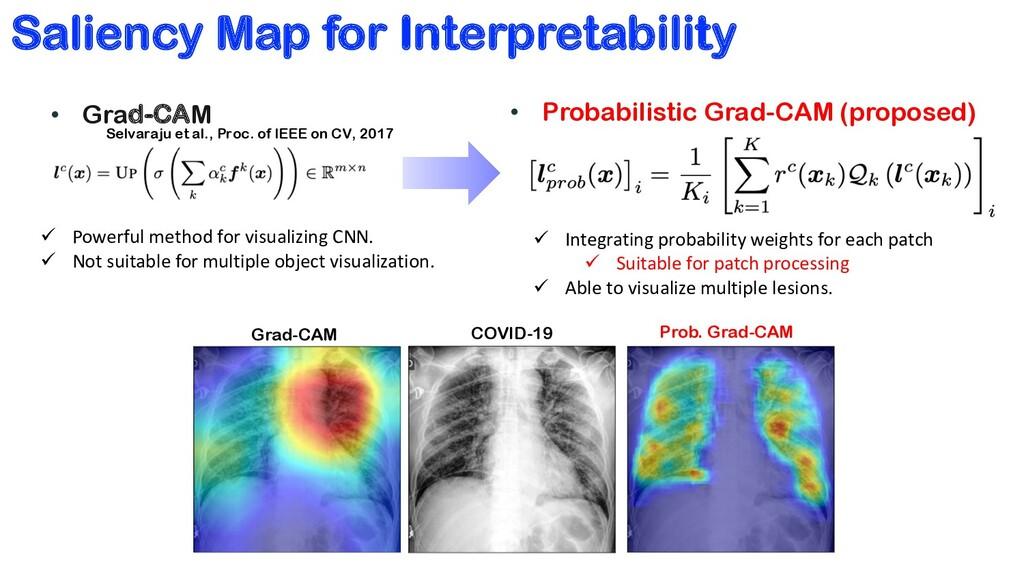 Saliency Map for Interpretability • Grad-CAM Se...