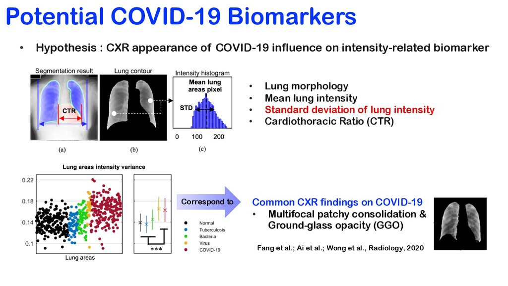 Potential COVID-19 Biomarkers • Lung morphology...