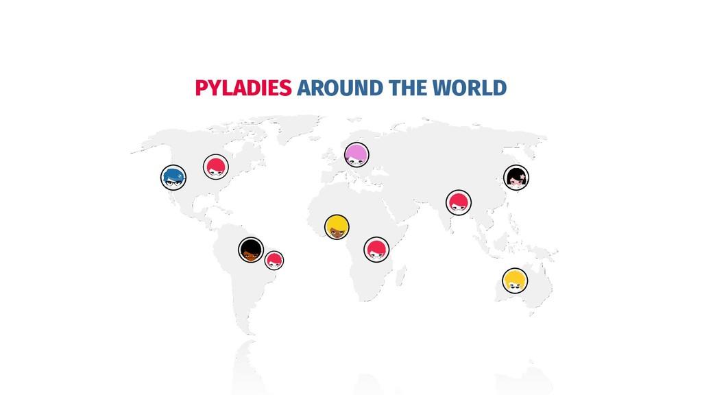 PYLADIES AROUND THE WORLD