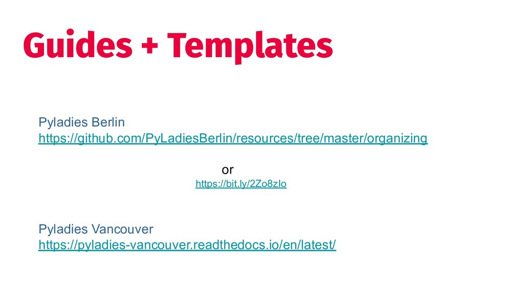 Guides + Templates Pyladies Berlin https://gith...