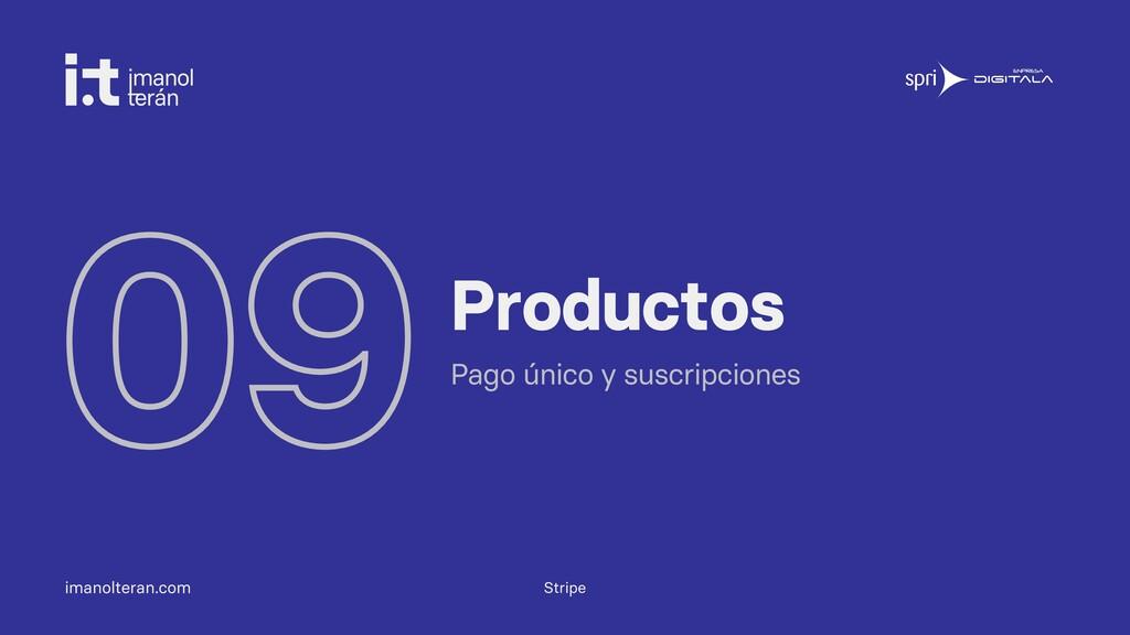 imanolteran.com 09Productos Pago único y suscri...