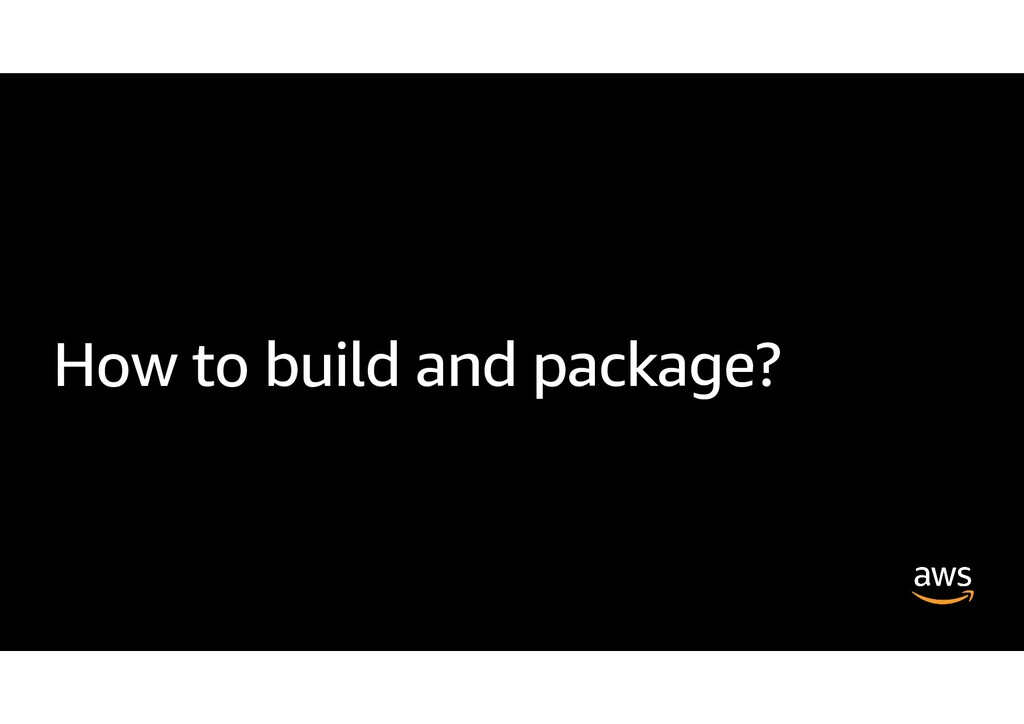 How to build and package?