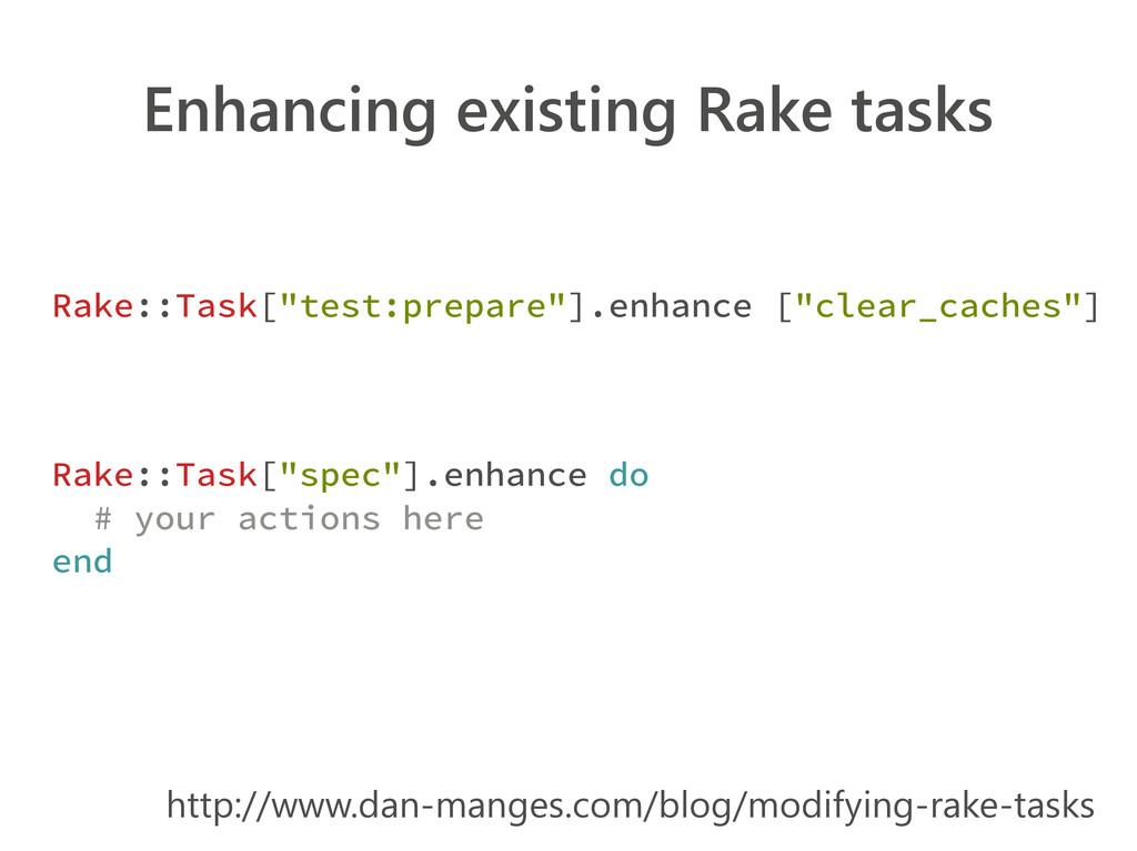 Enhancing existing Rake tasks http://www.dan-ma...