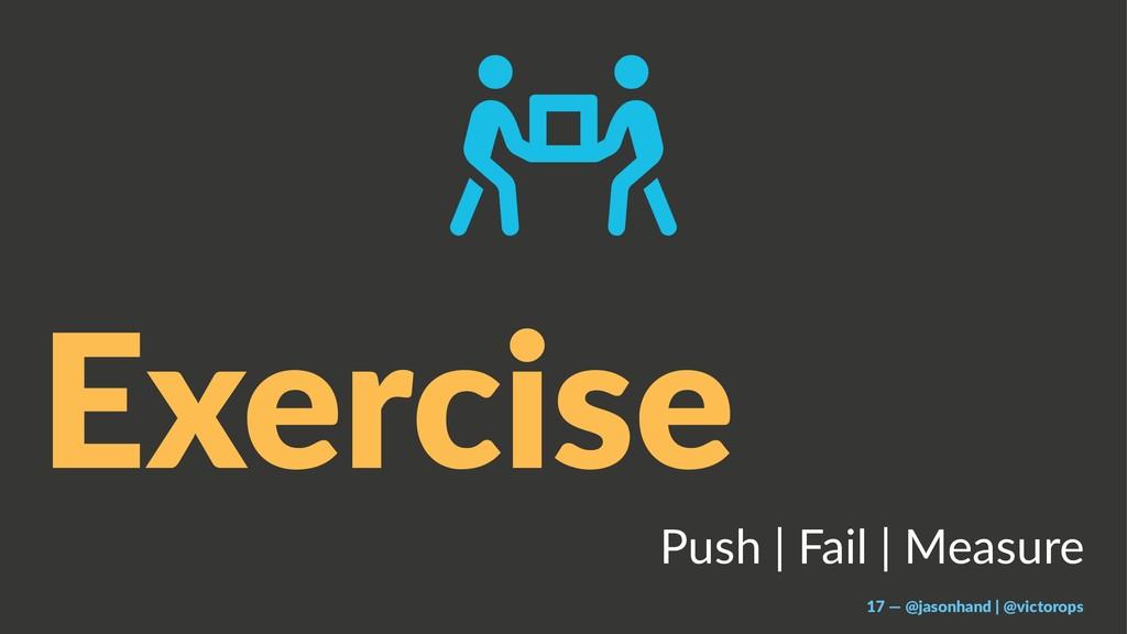 Exercise Push | Fail | Measure 17 — @jasonhand ...