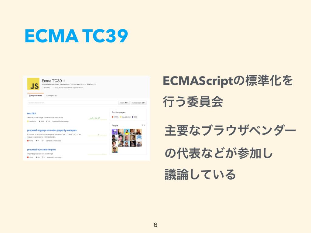 ECMA TC39  ECMAScriptͷඪ४ԽΛ ߦ͏ҕһձ ओཁͳϒϥβϕϯμʔ...