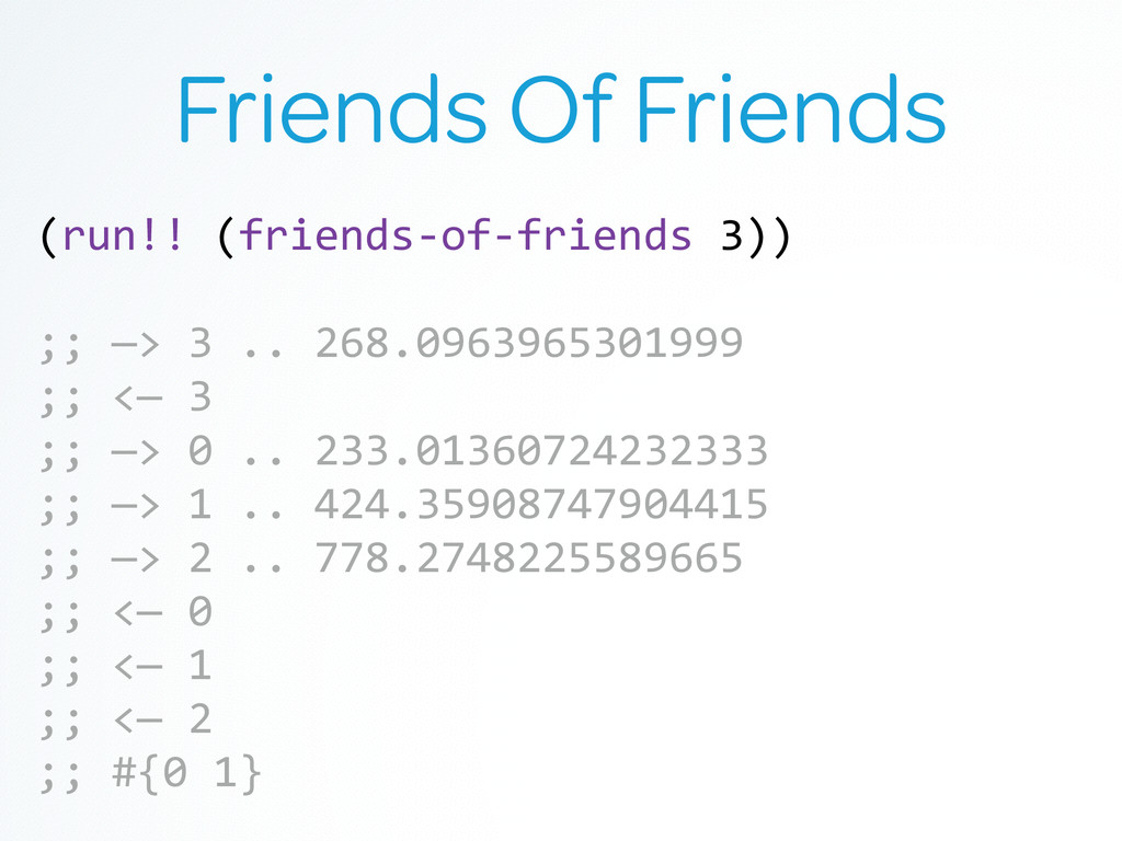 Friends Of Friends (run!! (friends-‐of-‐fr...