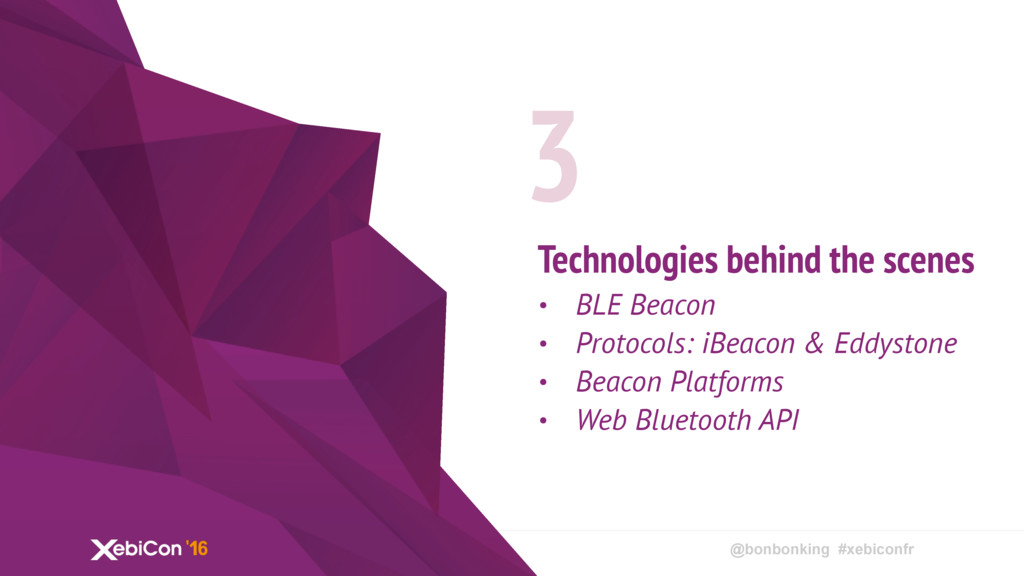 @bonbonking #xebiconfr Technologies behind the ...
