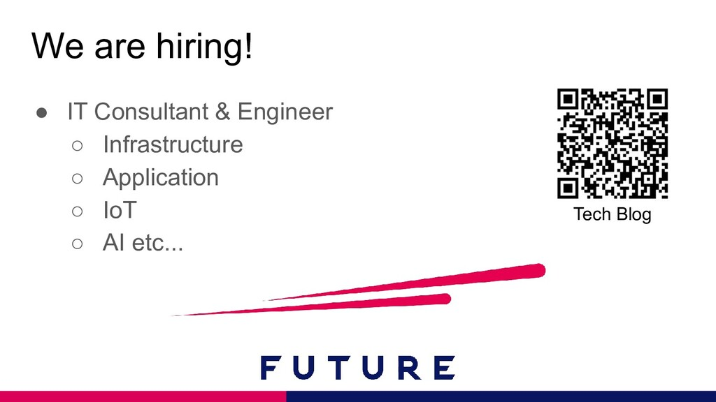 We are hiring! ● IT Consultant & Engineer ○ Inf...