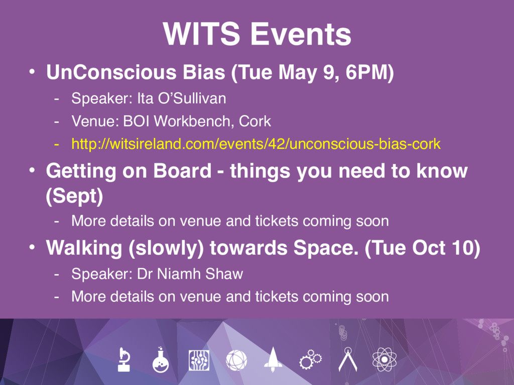 WITS Events • UnConscious Bias (Tue May 9, 6PM)...