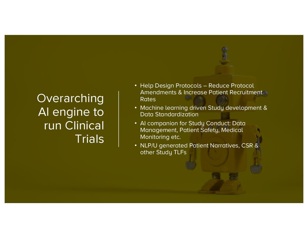 Overarching AI engine to run Clinical Trials • ...