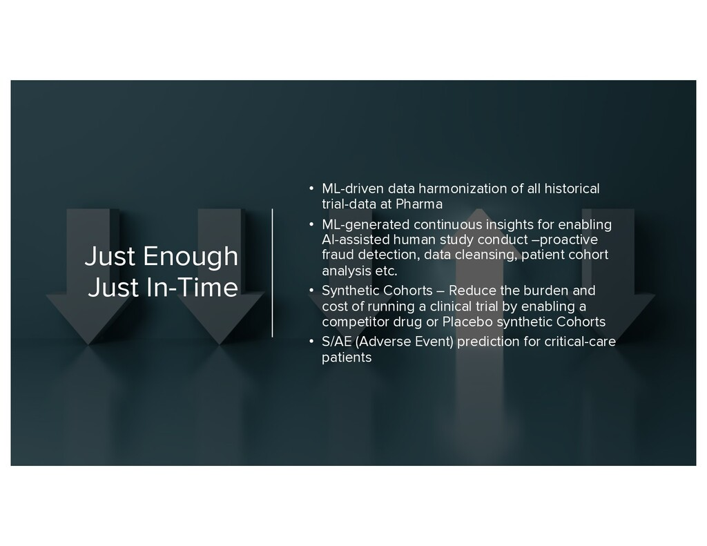 Just Enough Just In-Time • ML-driven data harmo...