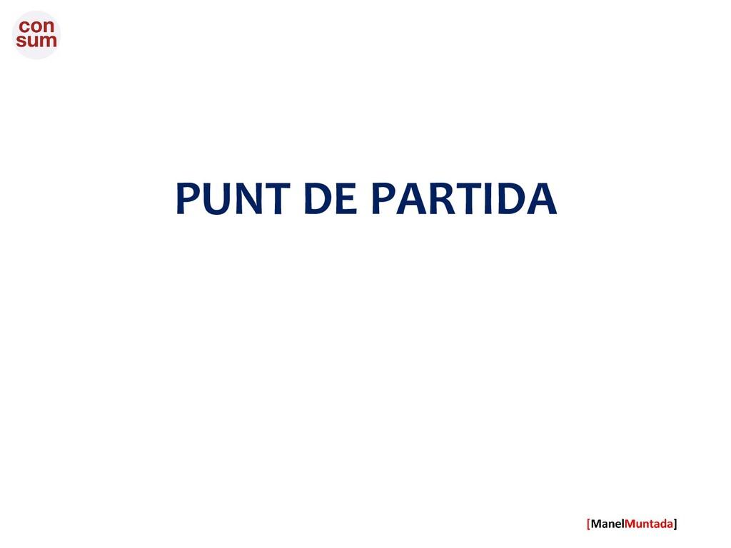 PUNT DE PARTIDA