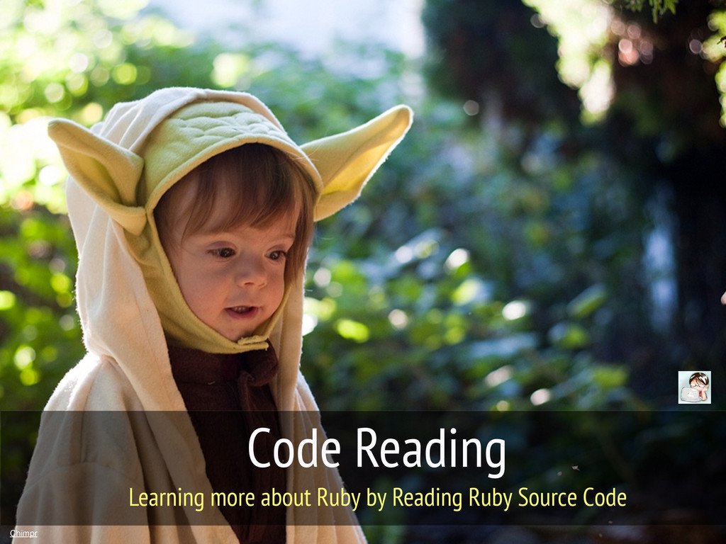 Code Reading Chimpr Learning more about Ruby by...