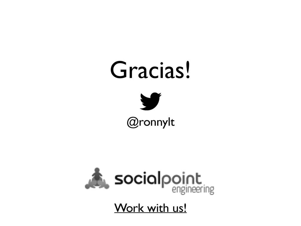 Gracias! @ronnylt Work with us!