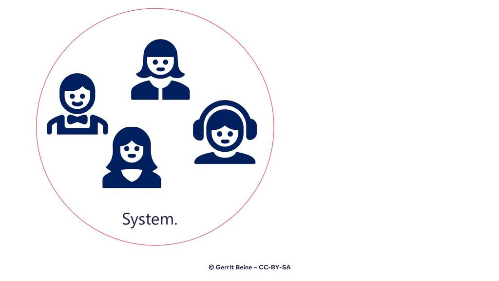 System. © Gerrit Beine – CC-BY-SA