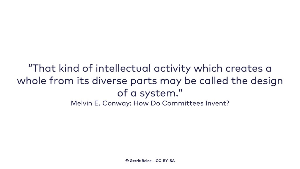 """That kind of intellectual activity which creat..."