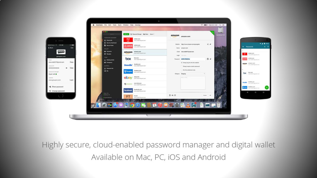 Highly secure, cloud-enabled password manager a...