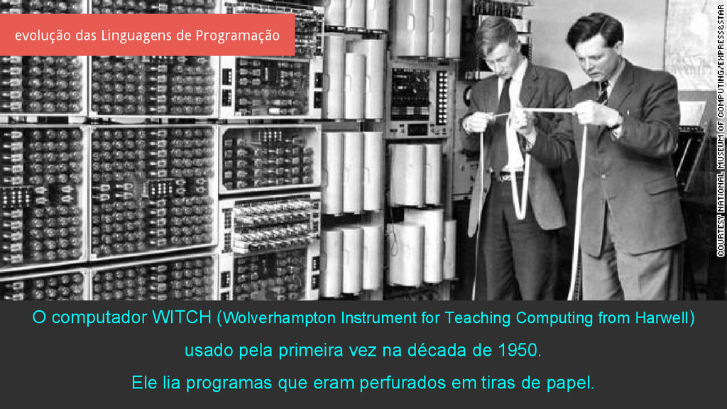 O computador WITCH (Wolverhampton Instrument fo...