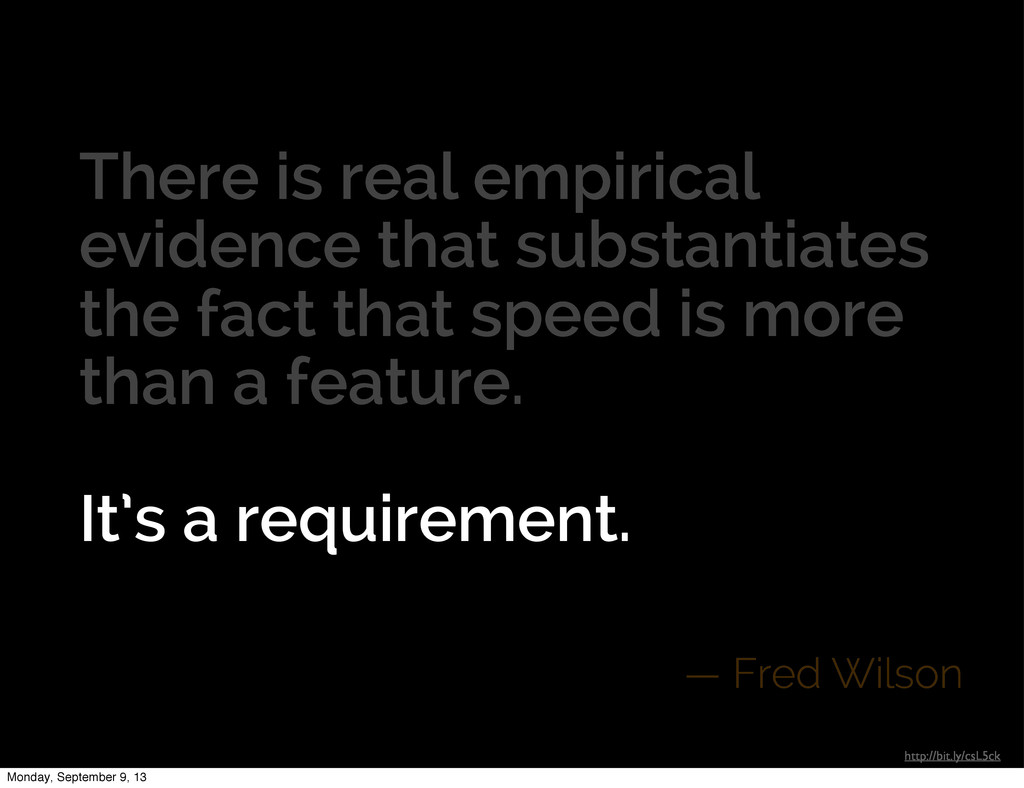 There is real empirical evidence that substanti...