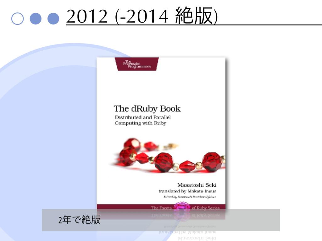 2012 (-2014 ઈ൛) 2Ͱઈ൛