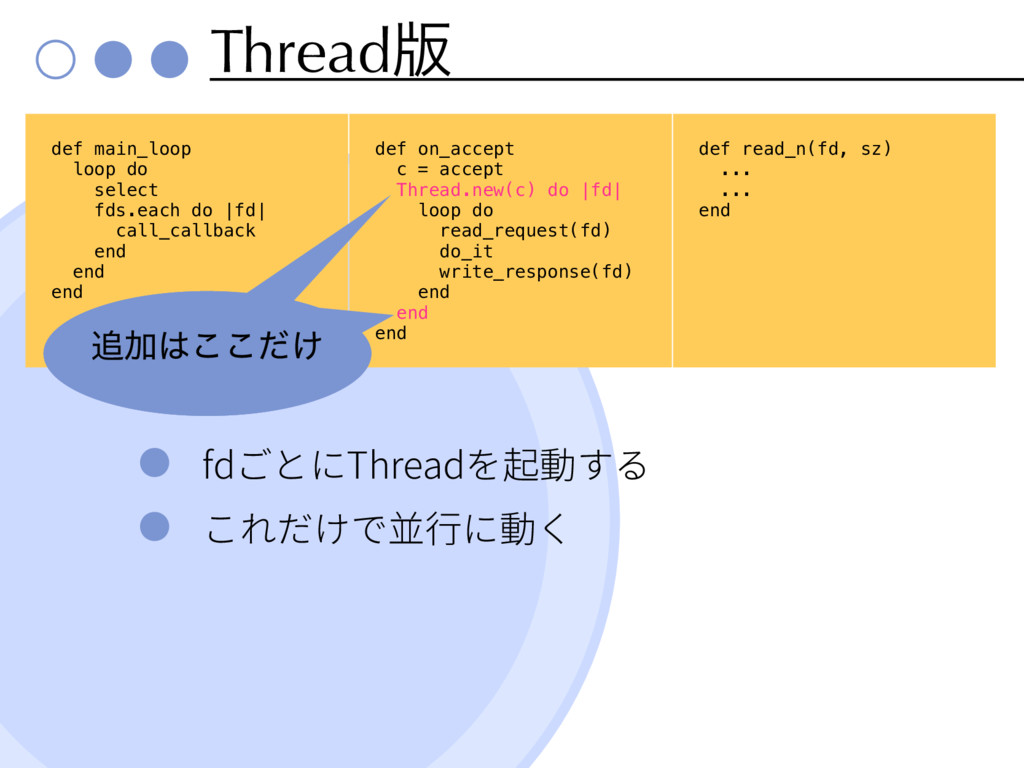 Thread൛ fd Thread def main_loop loop do select ...