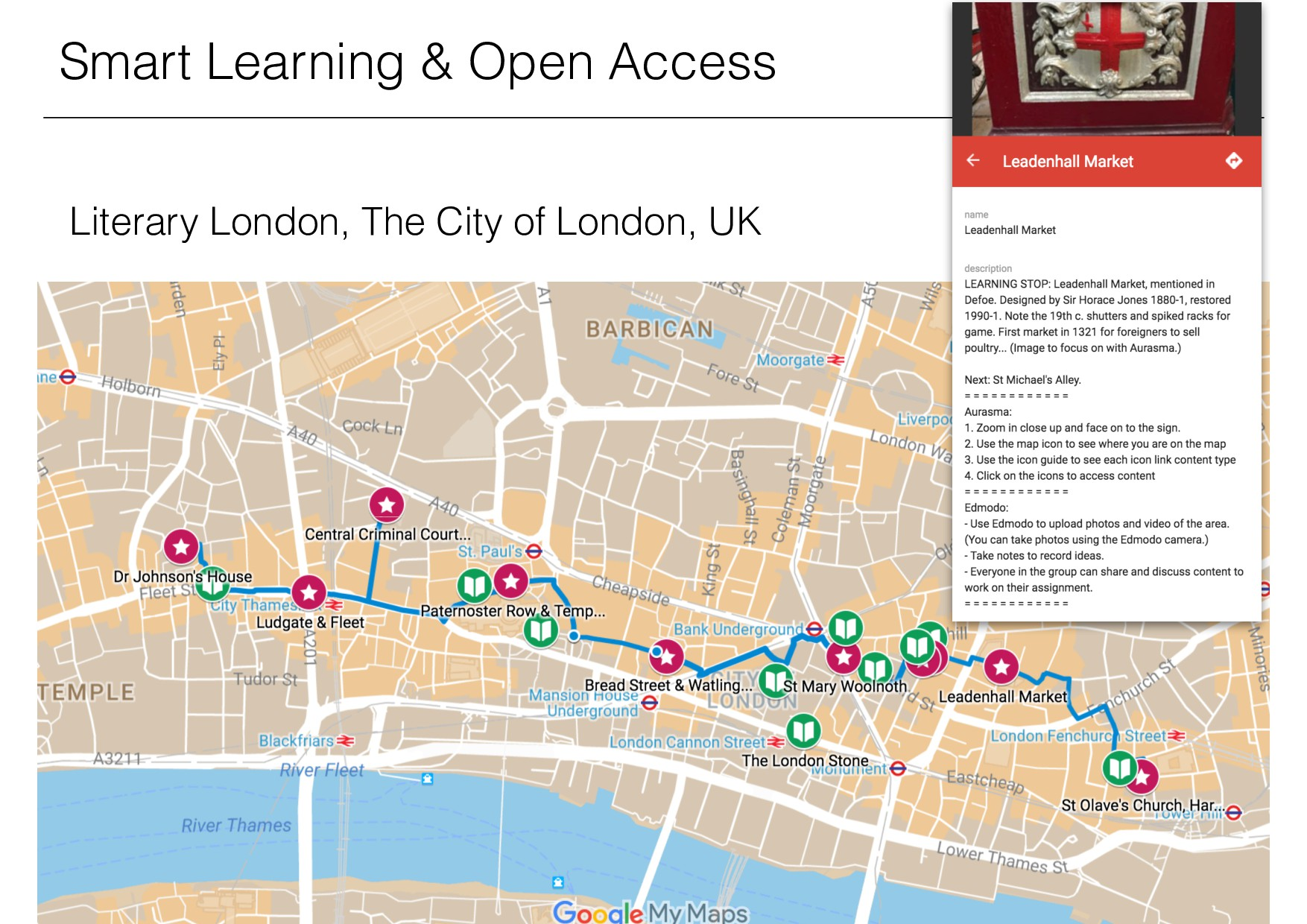 Smart Learning & Open Access Literary London, T...