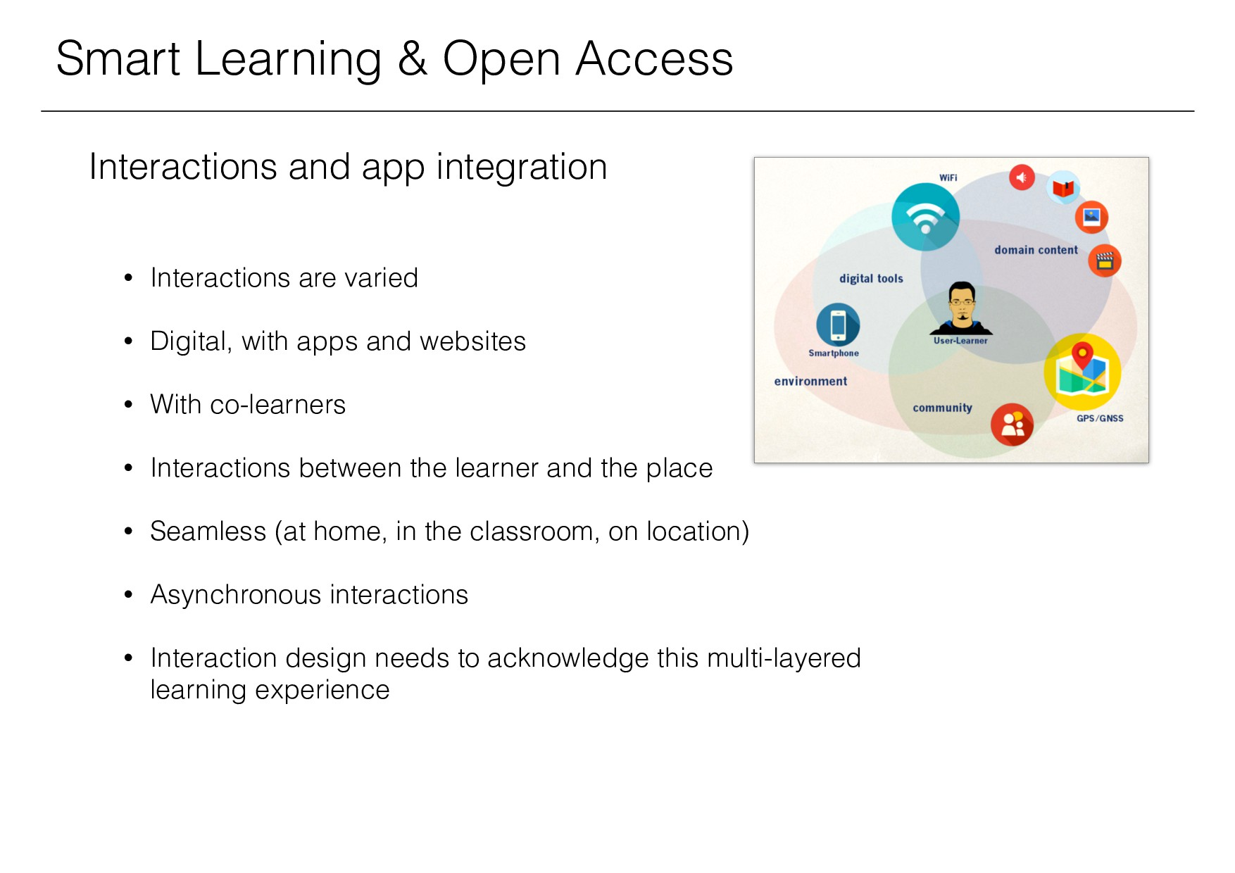 Smart Learning & Open Access Interactions and a...