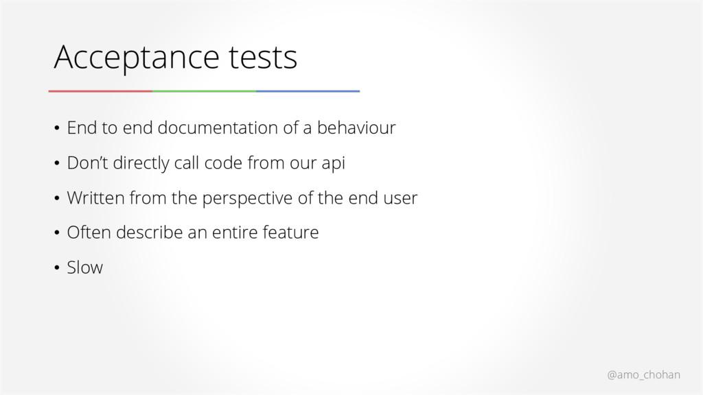 @amo_chohan Acceptance tests • End to end docum...