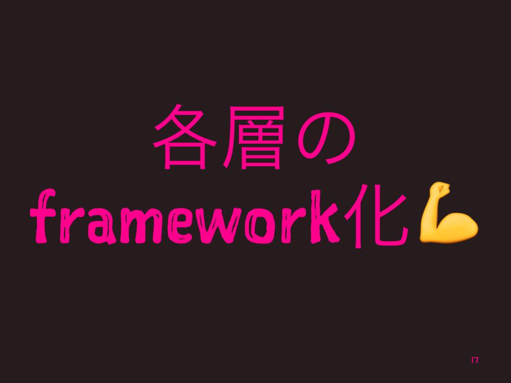 ֤ͷ frameworkԽ! 17