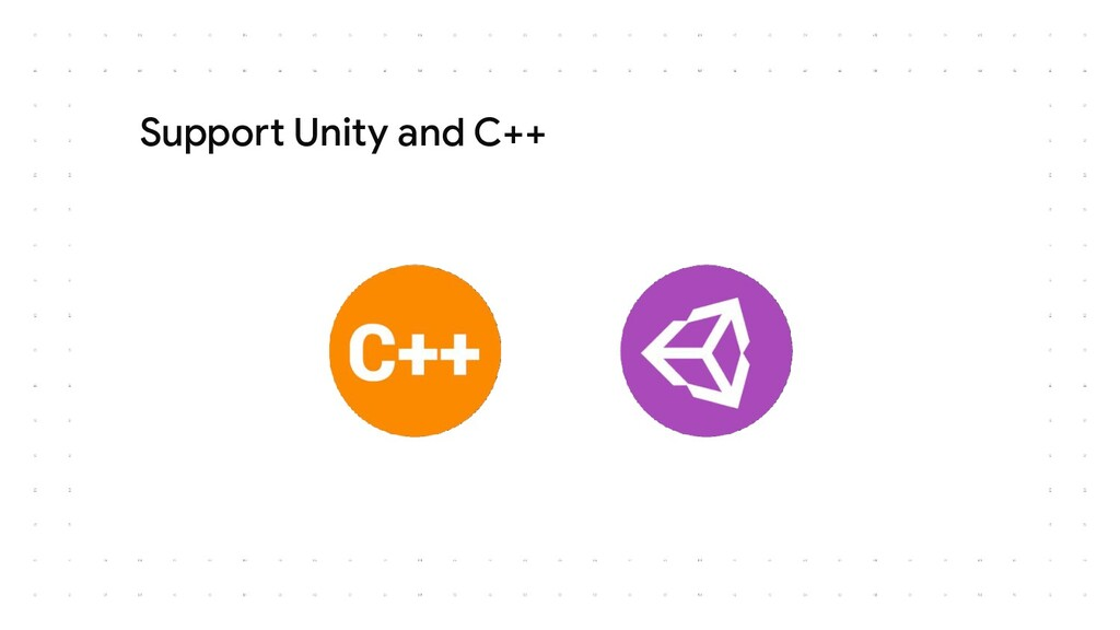 Support Unity and C++