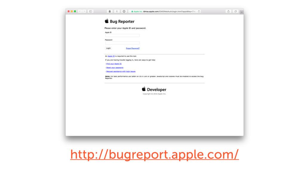 http://bugreport.apple.com/