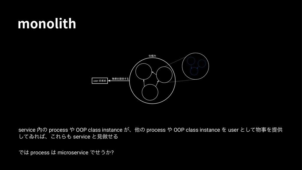 NPOPMJUI service 㚎ͷ process  OOP class instanc...