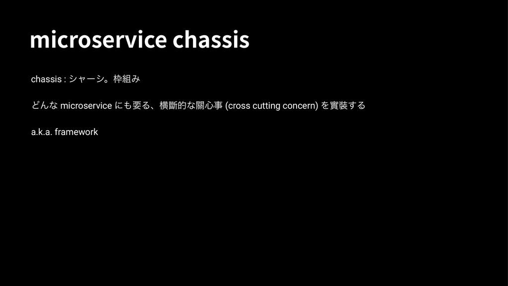 NJDSPTFSWJDFDIBTTJT chassis : γϟʔγɻΈ ͲΜͳ mic...