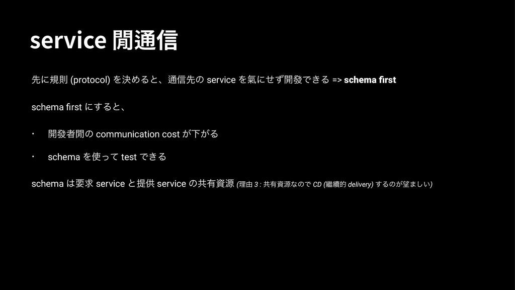 TFSWJDF㕽㙳⟓ ઌʹنଇ (protocol) ΛܾΊΔͱɺ㙳৴ઌͷ service ...