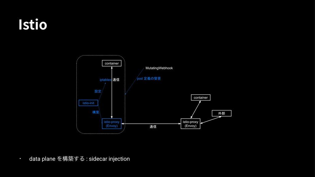 *TUJP • data plane Λ㗇㙡͢Δ : sidecar injection