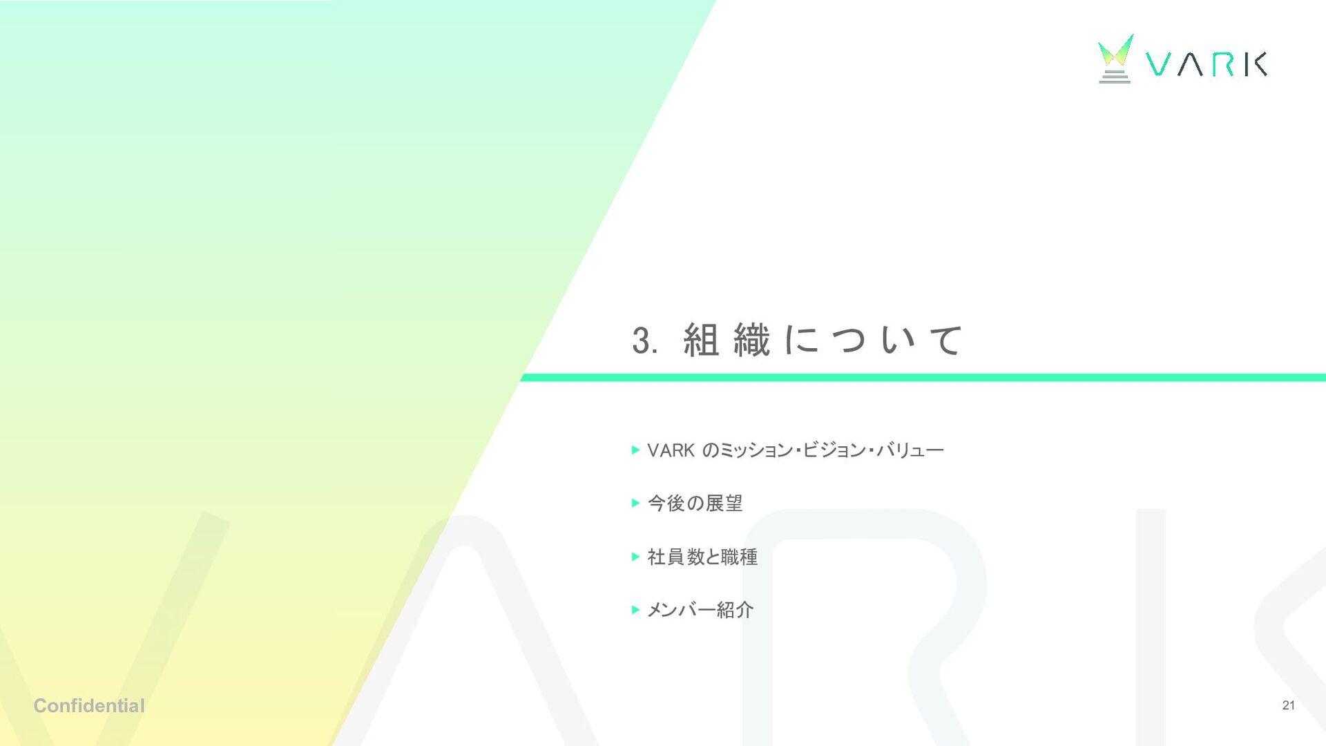 最近の大きなトピックス「資金調達達成」 VARKライブの実績 6億円の資金調達達成 2018年...