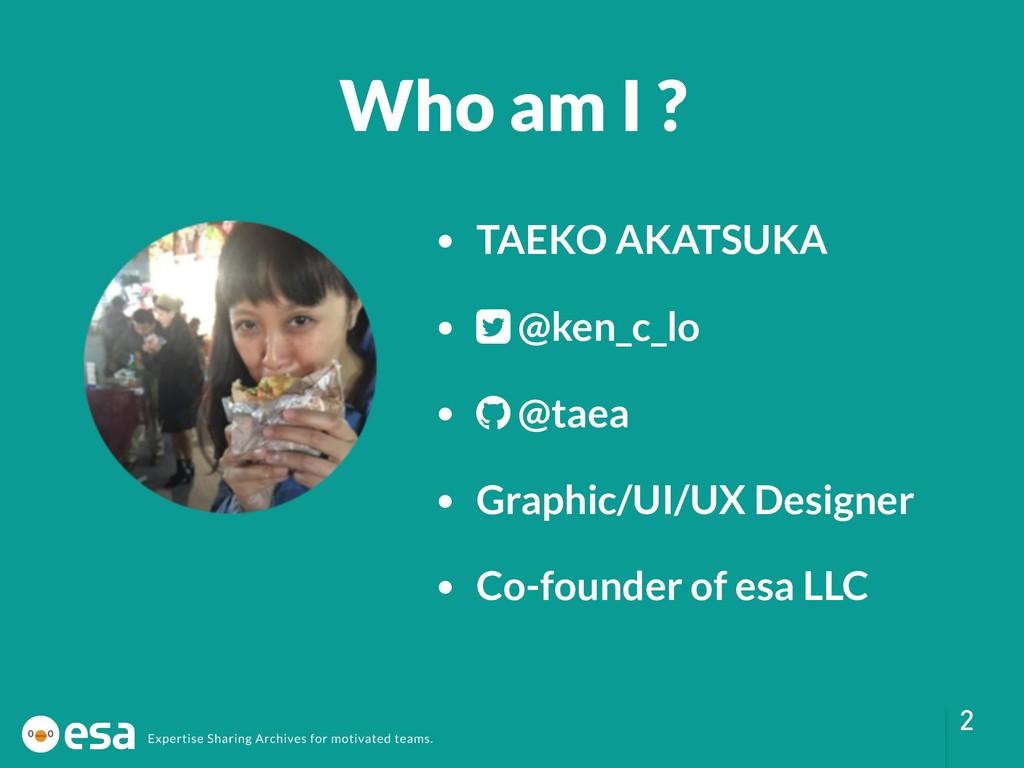 !2 • TAEKO AKATSUKA • @ken_c_lo • @taea • Graph...