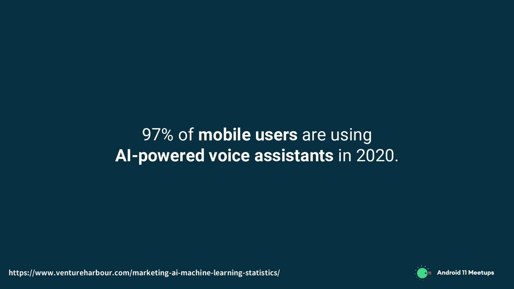 97% of mobile users are using AI-powered voice ...