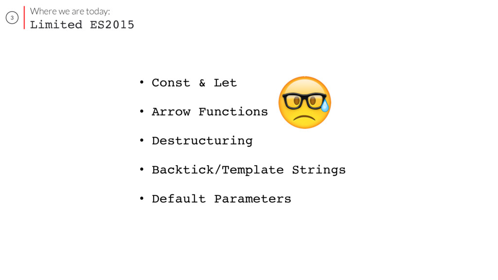 3 • Const & Let • Arrow Functions • Destructuri...