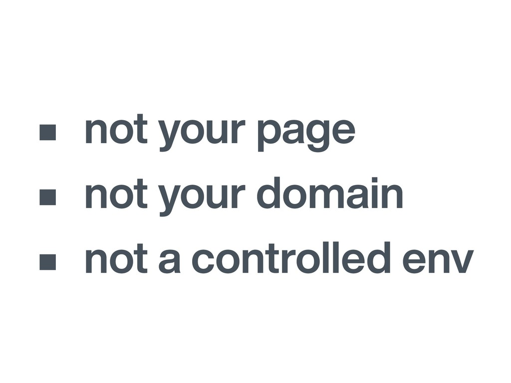 • not your page • not your domain • not a contr...