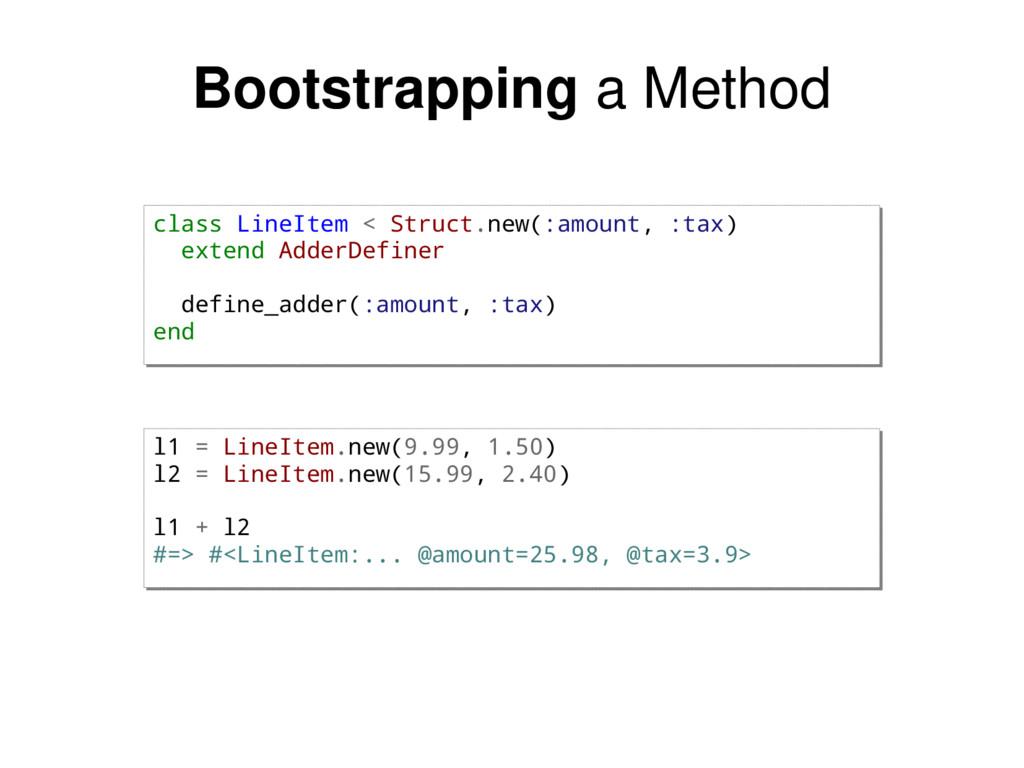 class LineItem < Struct.new(:amount, :tax) exte...
