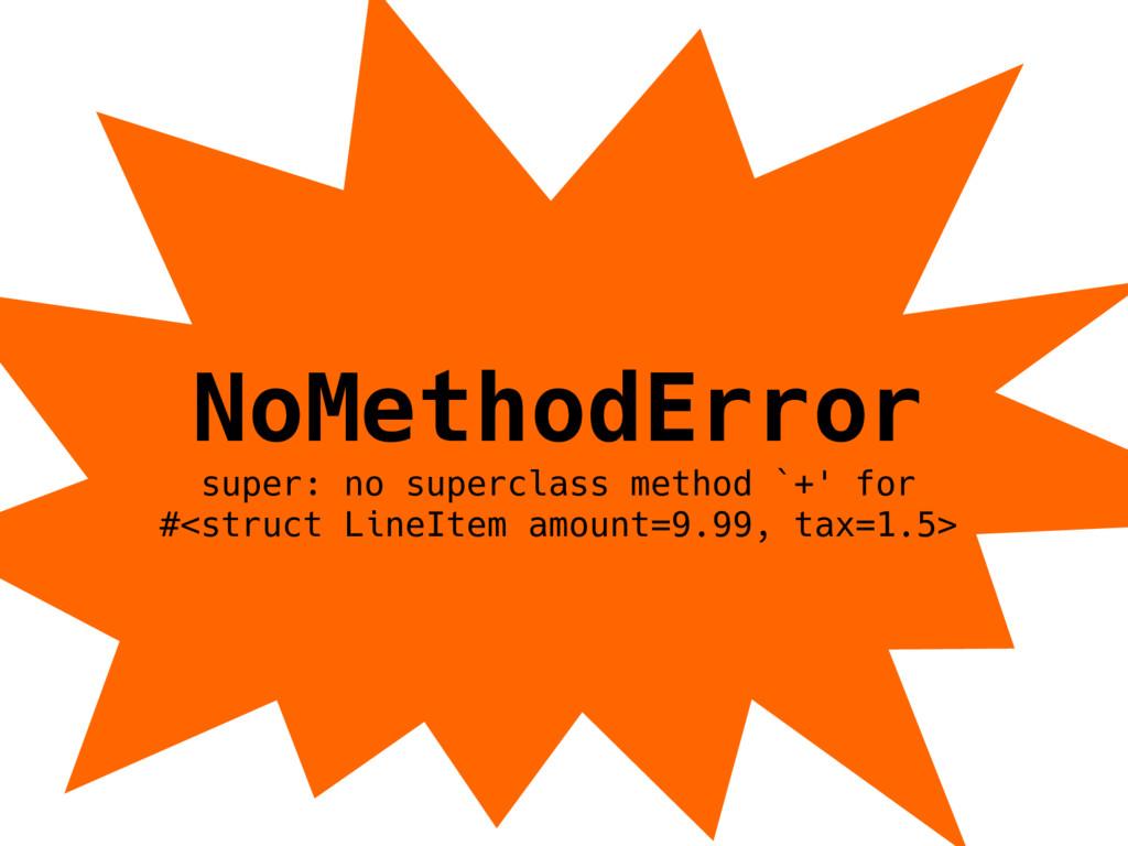 NoMethodError super: no superclass method `+' f...