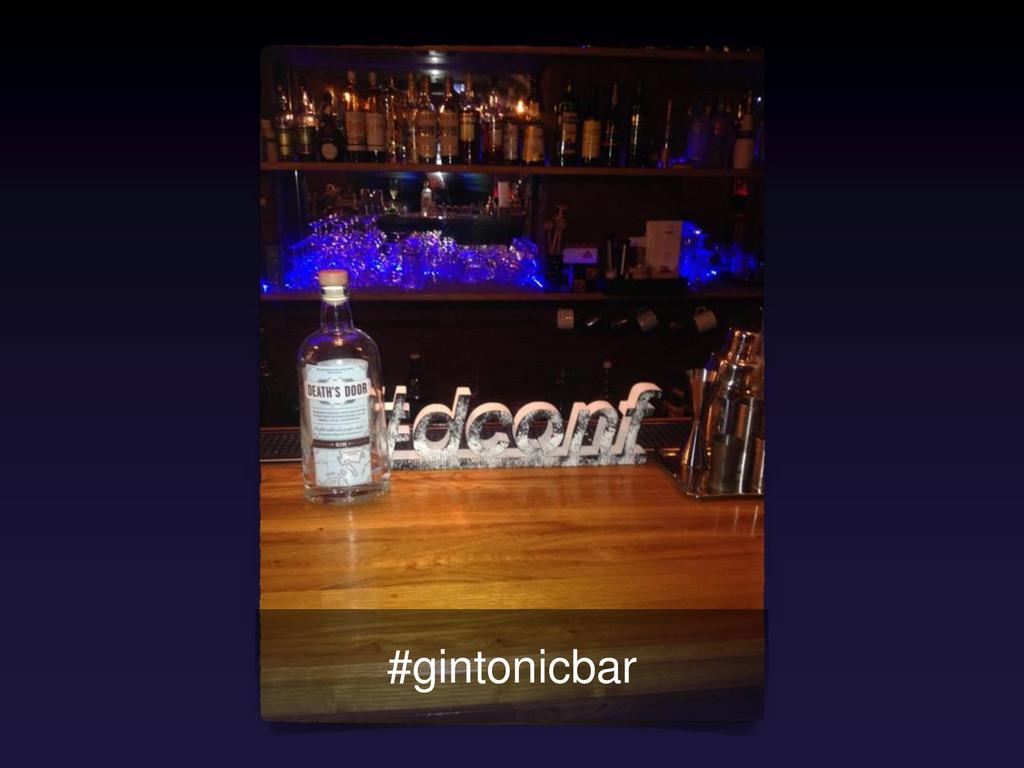 #gintonicbar