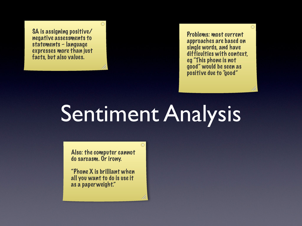 Sentiment Analysis SA is assigning positive/ ne...