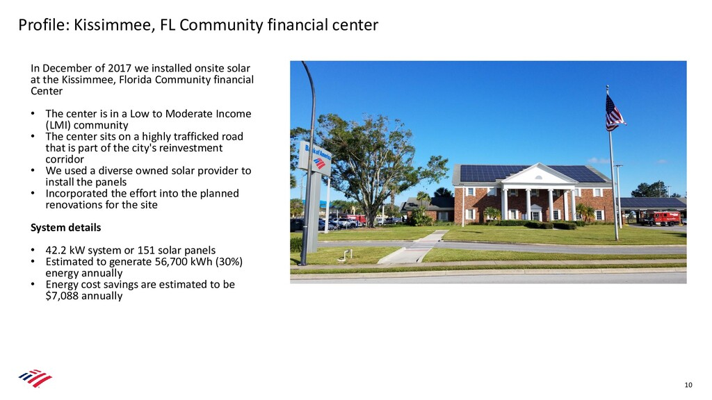 Profile: Kissimmee, FL Community financial cent...