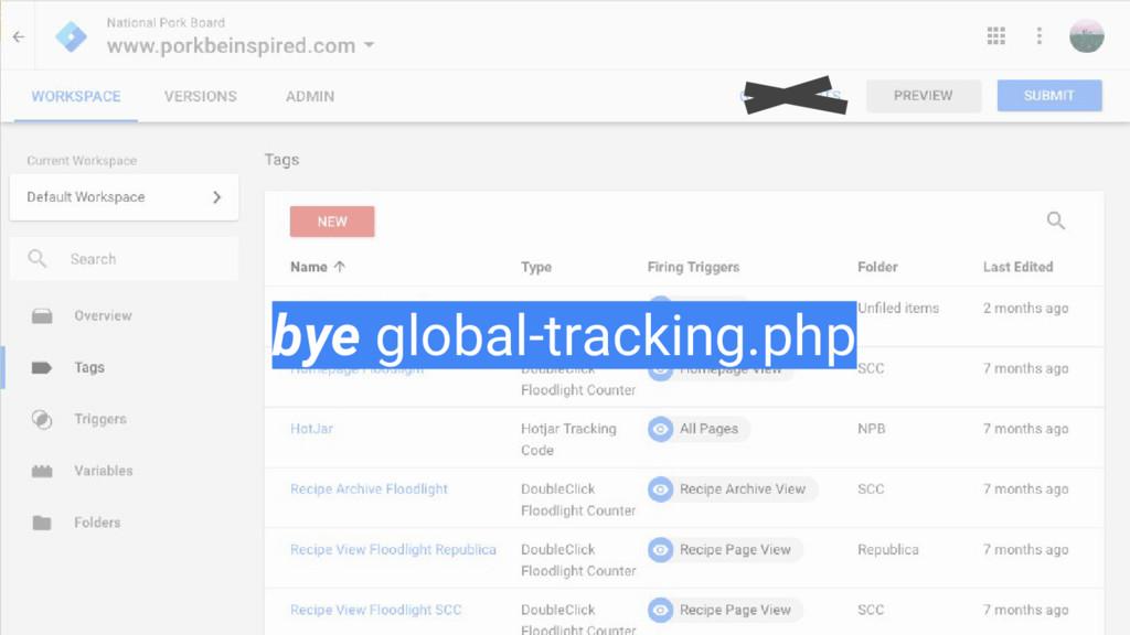 bye global-tracking.php
