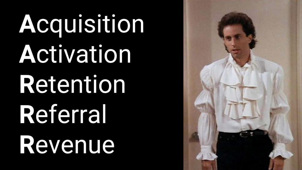 Acquisition Activation Retention Referral Reven...