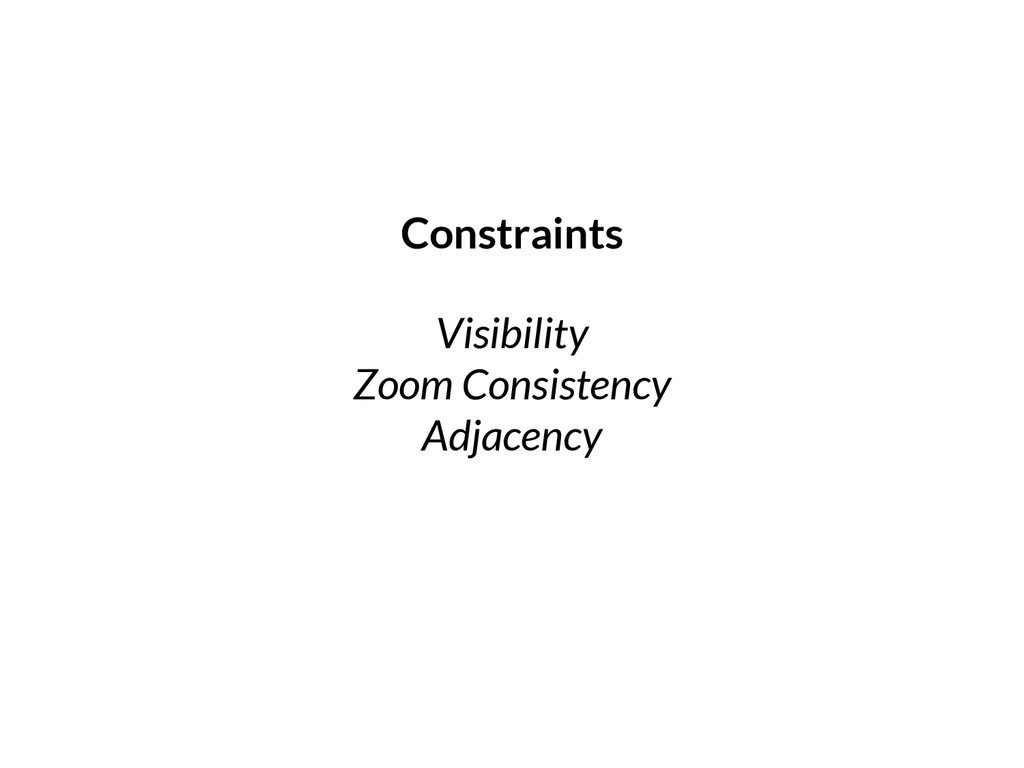 Visibility Zoom Consistency Adjacency Constrain...